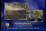 Still frame from: CBS Sept. 11, 2001 2:04 pm - 2:46 pm