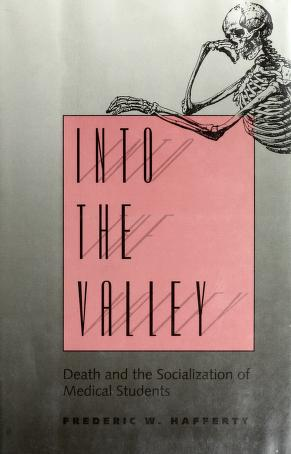 Cover of: Into the valley | Frederic W. Hafferty