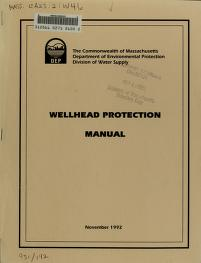 Wellhead protection manual by Joan W. Pierce