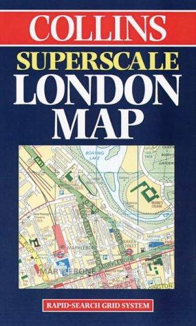 Collins Superscale London Map by England) Collins (Firm : London
