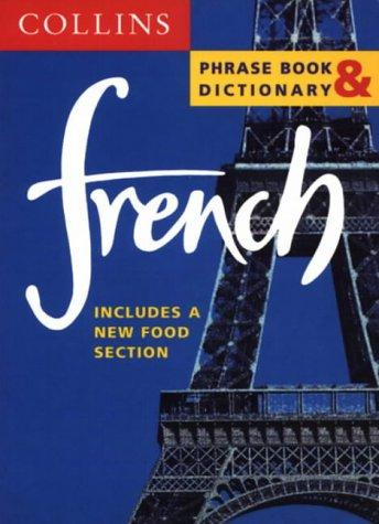 French Phrase Book & Dictionary by Harpercollins